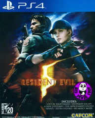 Resident Evil 5 (PlayStation 4) Region Free
