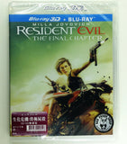 Resident Evil: The Final Chapter 生化危機: 終極屍殺 2D + 3D Blu-Ray (2016) (Region A) (Hong Kong Version) 2 Disc