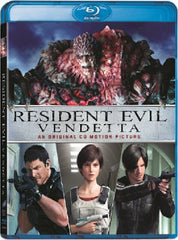 Resident Evil: Vendetta 生化危機: 血仇殺戮 Blu-Ray (2017) (Region A) (Hong Kong Version) aka Biohazard: Vendetta
