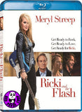 Ricki And The Flash Blu-Ray (2015) (Region Free) (Hong Kong Version)