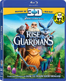 Rise Of The Guardians 2D + 3D Blu-Ray (2012) (Region Free) (Hong Kong Version)