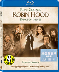 Robin Hood: Prince Of Thieves 俠盜羅賓漢 (加長版) Blu-Ray (1991) (Region Free) (Hong Kong Version) Extended Cut