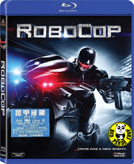 Robocop 2014 Blu-Ray (2014) (Region A) (Hong Kong Version)