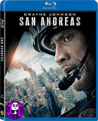 San Andreas 加州大地震 Blu-Ray (2015) (Region A) (Hong Kong Version)