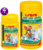 Sera Goldy Color Spirulina 100ml, 250ml (Sera) (Fish Food)