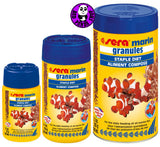 Sera Marin Granules 100ml, 250ml, 500ml (Sera) (Fish Food)