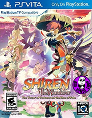 Shiren the Wanderer: The Tower of Fortune and the Dice of Fate (PS Vita) Region Free