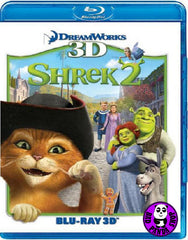 Shrek 2 史力加2 3D Blu-Ray (2004) (Region A) (Hong Kong Version)