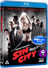Sin City: A Dame To Kill For 3D Blu-Ray (2014) (Region A) (Hong Kong Version)