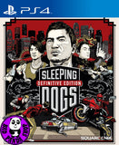 Sleeping Dogs - The Definitive Edition (PlayStation 4) Region Free