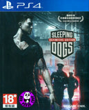 Sleeping Dogs - The Definitive Edition (PlayStation 4) Region Free (PS4 Chinese Subtitled Version) 香港秘密警察 決定版 (繁體中文版)