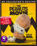 Snoopy: The Peanuts Movie 史諾比: 花生漫畫大電影 2D + 3D Blu-Ray (2015) (Region A) (Hong Kong Version) 2 Disc Edition
