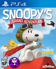 Snoopy's Grand Adventure (PlayStation 4) Region Free