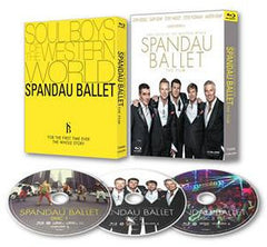Spandau Ballet The Movie - Soul Boys Of The Western World Blu-ray (Region A) (Hong Kong Version) 3 Disc Edition