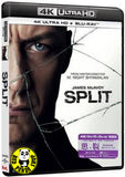 Split 思.裂 4K UHD + Blu-Ray (2017) (Region Free) (Hong Kong Version)