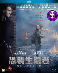 Survivor 恐襲生還者 Blu-Ray (2015) (Region A) (Hong Kong Version)