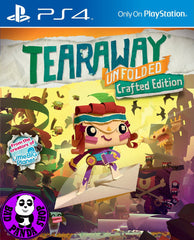 Tearaway Unfolded (PlayStation 4) Region Free (PS4 English & Chinese Subtitled Version) 撕紙小郵差: 拆封 (中英文合版)