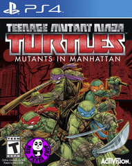 Teenage Mutant Ninja Turtles: Mutants in Manhattan (PlayStation 4) Region Free (PS4 English Version)