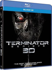 Terminator: Genisys 未來戰士 創世智能 3D Blu-Ray (2015) (Region A) (Hong Kong Version)
