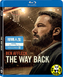 The Way Back Blu-ray (2020) 球轉人生 (Region Free) (Hong Kong Version)
