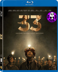 The 33 絕地拯救 33‬ Blu-Ray (2015) (Region A) (Hong Kong Version)