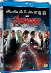 The Avengers 2: Age Of Ultron 復仇者聯盟2: 奧創紀元  3D Blu-Ray (2015) (Region A) (Hong Kong Version)
