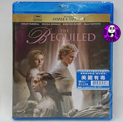 The Beguiled 美麗有毒 Blu-Ray (2017) (Region A) (Hong Kong Version)