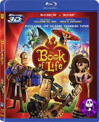 The Book Of Life 2D + 3D Blu-Ray (2014) (Region A) (Hong Kong Version)