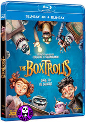 The Boxtrolls 2D + 3D Blu-Ray (2014) (Region A) (Hong Kong Version)