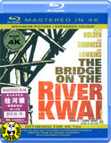 The Bridge On The River Kwai Blu-Ray (1957) (Region A) (Hong Kong Version) (Mastered in 4K)