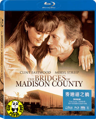 The Bridges Of Madison County Blu-Ray (1995) (Region Free) (Hong Kong Version)