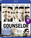 The Counselor Blu-Ray (2013) (Region A) (Hong Kong Version)