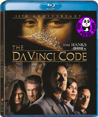 The Da Vinci Code 達文西密碼 Blu-Ray (2006) (Region A) (Hong Kong Version) (Mastered in 4K) 10th Anniversary Edition