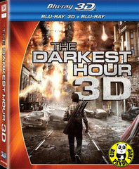 The Darkest Hour 2D + 3D 世紀末光煞 Blu-Ray (2011) (Region A) (Hong Kong Version)