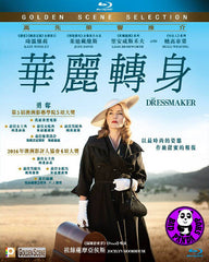 The Dressmaker 華麗轉身 Blu-Ray (2015) (Region A) (Hong Kong Version)