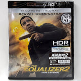 The Equalizer 2 叛諜裁判2 4K UHD + Blu-Ray (2018) (Hong Kong Version)