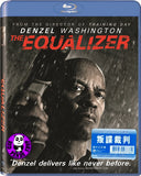 The Equalizer Blu-Ray (2014) (Region A) (Hong Kong Version)