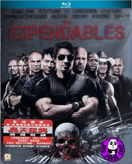 The Expendables Blu-Ray (2010) (Region A) (Hong Kong Version)