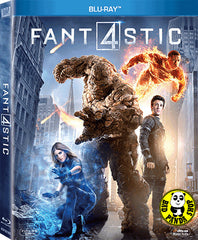 The Fantastic Four 神奇4俠 Blu-Ray (2015) (Region A) (Hong Kong Version) a.k.a. Fant4stic 4
