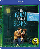 The Fault In Our Stars Blu-Ray (2014) (Region A) (Hong Kong Version) Little Infinities Extended Edition