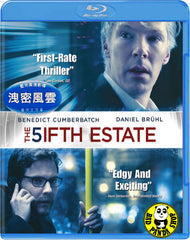 The Fifth Estate Blu-Ray (2013) (Region Free) (Hong Kong Version) a.k.a. The 5ifth Estate