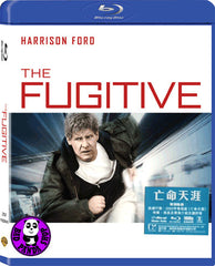 The Fugitive 亡命天涯 Blu-Ray (1993) (Region Free) (Hong Kong Version)