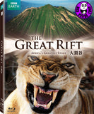 The Great Rift: Africa's Greatest Story Blu-Ray (BBC) (Region A) (Hong Kong Version)