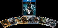The Hobbit: The Battle Of The Five Armies 2D + 3D Blu-Ray (2014) (Region A) (Hong Kong Version) 4 Disc Lenticular Cover