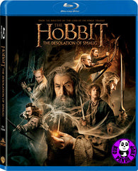 The Hobbit: The Desolation of Smaug Blu-Ray (2013) (Region A) (Hong Kong Version) (2D version) 2 Disc Edition