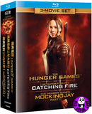 The Hunger Games Trilogy Blu-Ray Boxset (Region A) (Hong Kong Version) 3 Movie Set