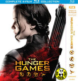 The Hunger Games Quadrilogy Blu-Ray Boxset (Region A) (Hong Kong Version) 4 Movie Set