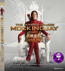 The Hunger Games: Mockingjay Part 2 飢餓遊戲 3: 自由幻夢 下集 Blu-Ray (2015) (Region A) (Hong Kong Version)
