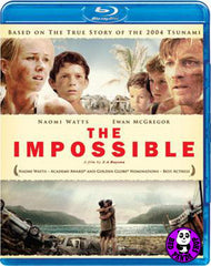 The Impossible Blu-Ray (2012) (Region A) (Hong Kong Version) a.k.a. Lo imposible