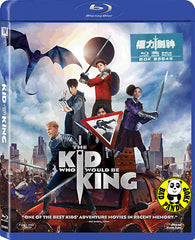 The Kid Who Would Be King 權力劍神 Blu-Ray (2018) (Region A) (Hong Kong Version)